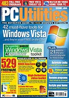PC Utilities magazine cover