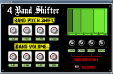 Freeware VST shifter plugin