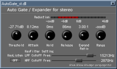VST noise-gate / expander free plugins - Wavosaur