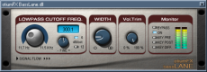 Bass lane  VST GUI