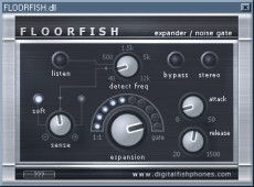 Floorfish noise gate VST GUI