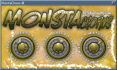 MONSTAChorus VST GUI