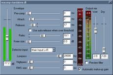 VST compressor free plugins - Wavosaur