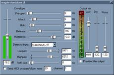 Vst Noise Gate Expander Free Plugins Wavosaur