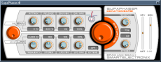 Supaphaser VST GUI