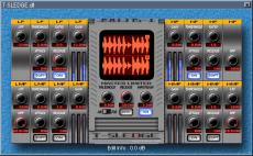 T-sledge multiband comp VST GUI