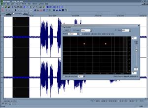 Sélection du bruit dans ReaFIR
