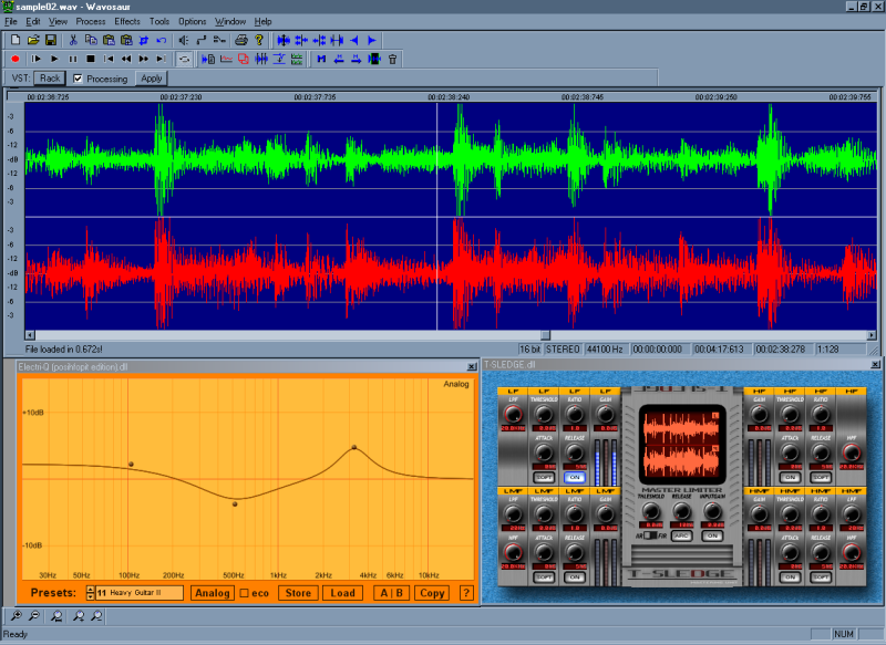 Wavosaur is a free audio editing software